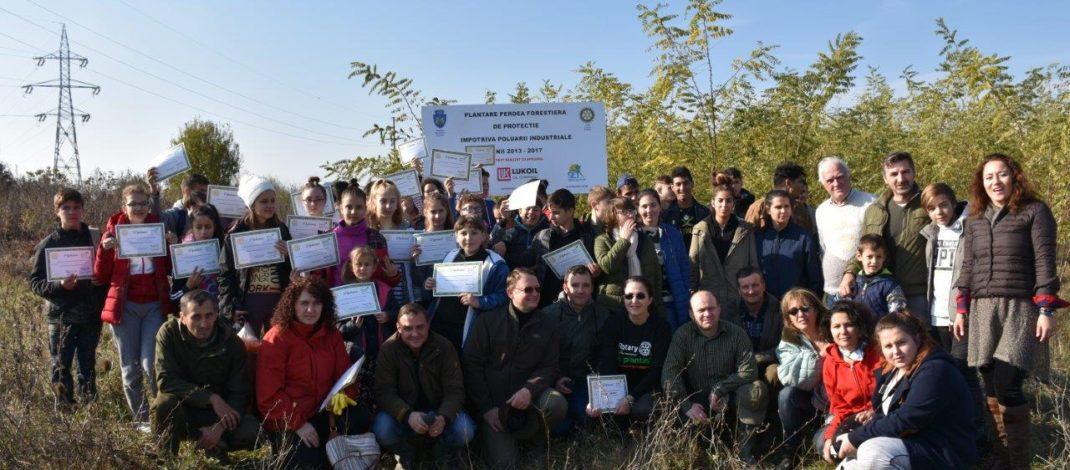 O nouă acțiune de voluntariat a Rotary Ploiești