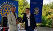 Predare de colan la Rotary Club Ploiești