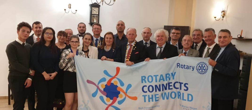 Guvernatorul Rotary 2241, la Ploiești