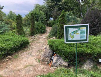 Lucrări de întreținere la Grădina Botanică