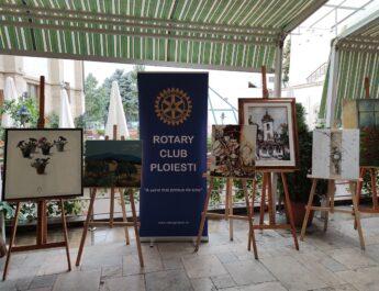 Rotary Ploiești susține Tabăra Internațională de Sculptură Monumentală